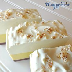 Coconut Pear Cold Process Handmade Soap by MORiverSoap on Etsy, $6.00