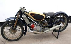 Classic 1927 Scott Flying Squirrel Motorcycle