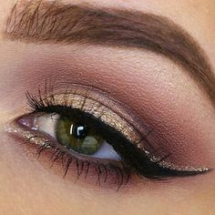 Gorgeous MUA @taniawallerx3 is fulfilling her #100daysofmakeup with NYX favorites! Glitter: Liquid Crystal Liner in 'Crystal Gold' ✨ || #nyxcosmetics #regram