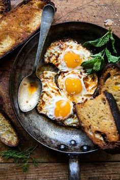 Moroccan fried eggs could not be simpler...or more delicious. The post Spicy Moroccan Fried Eggs. appeared first on Half Baked Harvest. :: Food