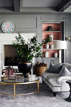 Once you've picked a winner, bring in complementary colors through accessories that highlight your new paint job. Click through for more tips for how to pick the best gray paint.