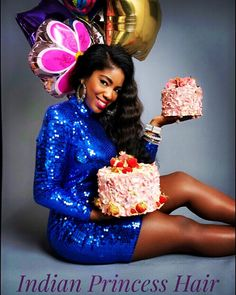 Have your cake and eat it to!  #indianprincesshair offers a BUY NOW PAY LATER option at check out! Get the hair you really want and have 6 months to pay interest free! #realhair for #realwomen #authenticindianhair #gorgeoushair #beautifulhair #healthyhair #naturalhair #naturalhairextensions #teamnatural #protectivestyles #cake #sequins #balloons #newyearnewyou by indianprincesshair