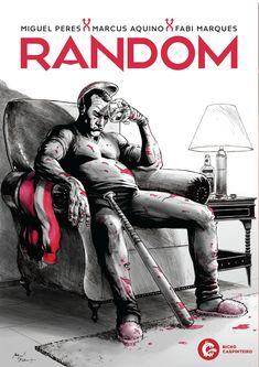 Random de Miguel Peres. Lançamento banda desenhada por Bicho Carpinteiro Edições em português, agosto 2020... #bandadesenhada #random #bdcomicspt