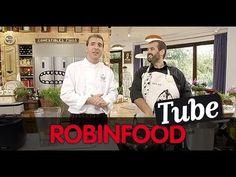 ROBINFOOD / Ensalada de pimientos + Pochas estofadas con hongos