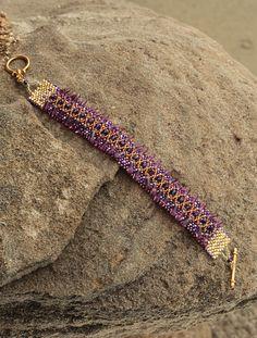 Purple bit o bling bracelet!