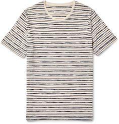 Bahia Striped Organic Cotton T-Shirt   MR PORTER