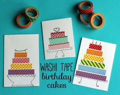 My girls love crafting and decorating things with washi tape. Actually, so do I! If you don't already have a stash of washi tape at home, I highly recommend adding some to your craft supplies. These whimsical washi tape birthday... Continue Reading →