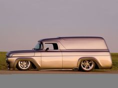 57  Ford panel truck