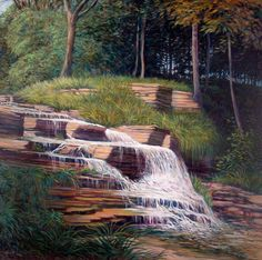 Little Waterfall  -Sold