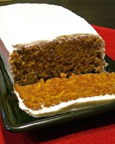 Carrot cake is definitely underrated. I was reminded of that after trying this week's recipe for Sweet Melissa Sundays, Carrot Cake , chose. Carrot Cake Loaf, Gluten Free Carrot Cake, Gluten Free Cakes, Gluten Free Desserts, Just Desserts, Gluten Free Recipes, Baking Recipes, Delicious Desserts, Yummy Food