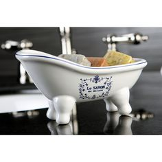 Le Savon Slipper Clawfoot Tub Soap Dish - Overstock™ Shopping - The Best Prices on Bathroom Accessory Sets