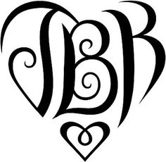 """JBK"" Heart Design by tiffanyharvey, via Flickr"