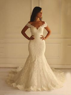 This off the shoulder wedding gown was made with tons of lace. This beautiful design can be custom modified to your personal taste. Get info on custom #weddingdresses, replicas of designer gowns, or recreations of discontinued designs when you visit www.dariuscordell.com/