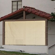 Sun Shade Canopy Tent Panel Patio Window Pergola Gazebo Cover Yard Garden Beige #GardenFurniture
