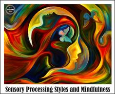 Sensory Processing Styles and Mindfulness - Your Therapy Source Modern Art Paintings, Fantasy Paintings, Sensory Processing, Art Design, Surreal Art, Indian Art, Diy Art, Watercolor Art, Art Drawings