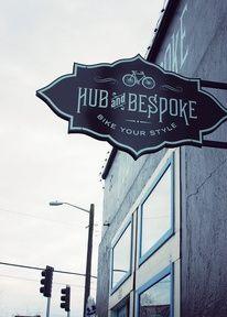 Bike Sign Typography — Designspiration