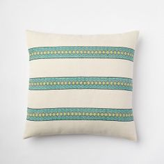 Crib pillow from West Elm