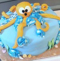 Under the Sea Octopus cake at NashvilleSweets.com