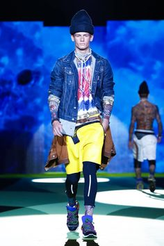Dsquared2 Menswear Spring Summer 2016 Milan - NOWFASHION