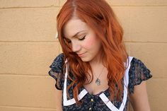 Lighter red? Pinning possibilities, 'cause I'm over the blonde!