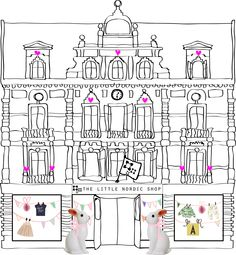 The little nordic shop in Via Galleria! Kids clothes and more!