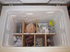 ... Ideas, Wire Baskets, Chest Freezers Organic, Freezer Organization