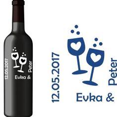 Svadobná etiketa Zoe Vodka Bottle, Drinks, Drinking, Beverages, Drink, Beverage