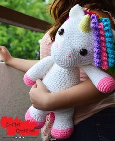 Child Knitting Patterns -imi the unicorn-friendly - 40 cm. Crochet sample / 16 in. Excessive - Amigurumi Plush toys crochet - prompt obtain in PDF format Baby Knitting Patterns Crochet Diy, Crochet For Kids, Crochet Crafts, Crochet Dolls, Crochet Projects, Quick Crochet, Tutorial Crochet, Amigurumi Doll, Amigurumi Patterns