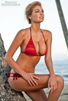 Kate Upton - Sports Illustrated Swimsuit 2012 Location: Cairns, Queensland, Australia, Shangri-La Hotel Swimsuit: Swimsuit by Magdalena Trever by Maggie May Swimwear Photographed by: Walter Iooss Jr.