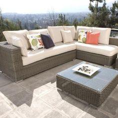 Complementos de terraza Outdoor Sectional, Sectional, Outdoor Furniture, Decor, Outdoor Sectional Sofa, Outdoor Decor, Sofa, Furniture, Home Decor