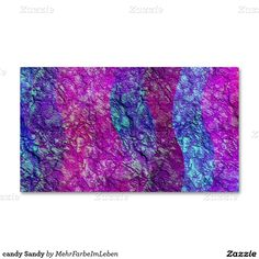 candy Sandy Double-Sided Standard Business Cards (Pack Of 100)