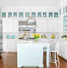 32 Amazing Beach-Inspired Kitchen Designs | DigsDigs