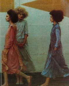 Photo by Gianbarberis for Vogue Italia, 1975.