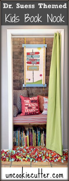 Kids Book Nook with Dr. Suess theme – Accessories