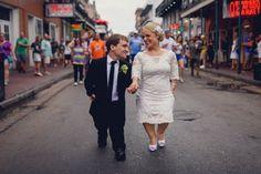teale + nic | Vienna Dress from BHLDN | image via: junebug weddings | #BHLDNbride