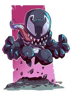 Chibi Venom by DerekLaufman on DeviantArt
