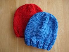 Lightning Fast NICU and Preemie Hats       By Jennifer Dickerson        These hats are knit with larger needles making them an...