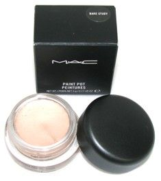 """Mac Paint Pot in """"Bare Study."""" You get exactly what you pay for and it's totally worth it. Beautiful base or can be worn by itself! Long lasting and looks good on everyone!"""