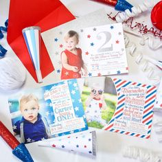 We've got everything you need for your 4th of July Birthday Party!!❤️