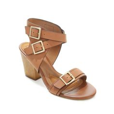 A block heel is ideal for almost every occasion! Comfortable height for walking and stability! What would you pair these sandals with?
