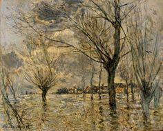 Vetheuil, L'Inondation, 1881 Claude Monet