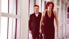 Jennifer Garner as Sydney Bristow w/Marshall