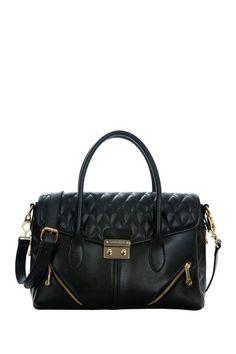 Arielle Quilted Handbag by Segolene En Cuir on @HauteLook