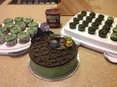 Teenage Mutant Ninja Turtle Cake for Mason's birthday!