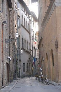 Florence, empty street