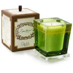 Aquiesse Costa Rica Compass Candle & Gift Box   All Natural Organic Scented Candles
