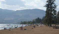 The Okanagan best beach with beachfront volleyball, picnic tables, concession, lots of shade trees, grass and more. Sonora Desert, Shade Trees, Wine Country, Summer Days, Places Ive Been, Canada, Vacation, Landscape, World