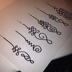 Resultado de imagen para unalome tatuajes
