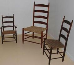 chairs in Shaker style