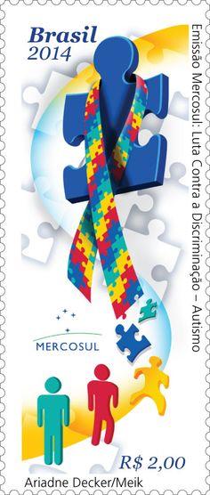 Stamps - Autism